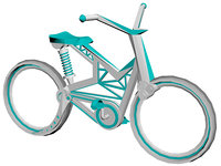 3D bicycle concept model