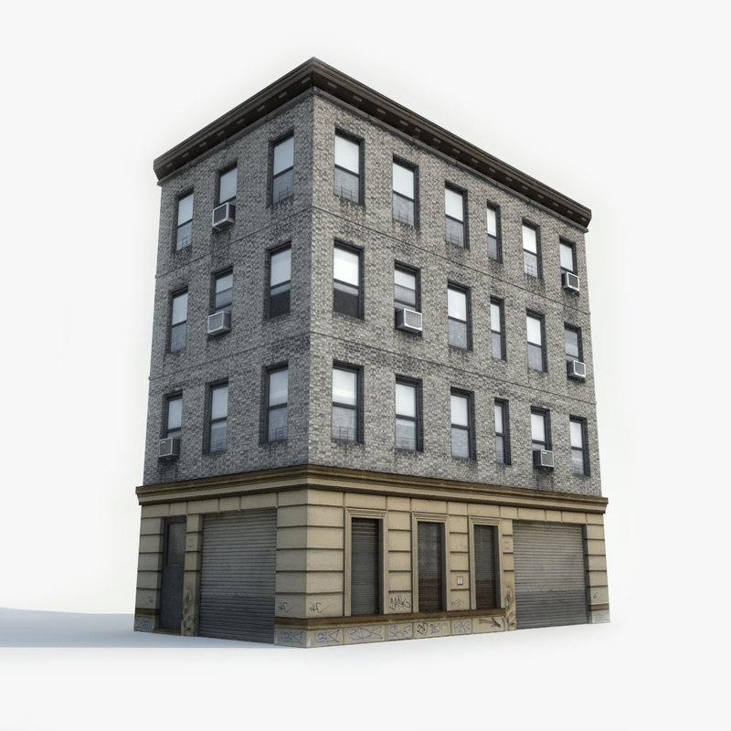 Model Apartments: 3D Apartment Building Model