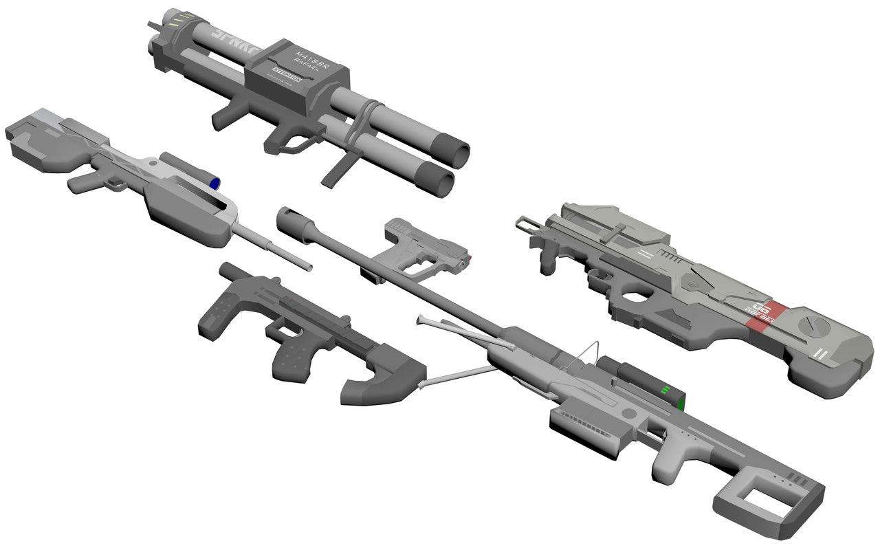 Halo Guns