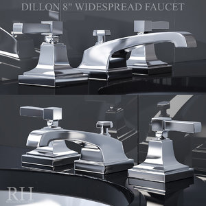 restoration dillon 8in widespread 3D model