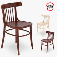 chair small viennese 3D model