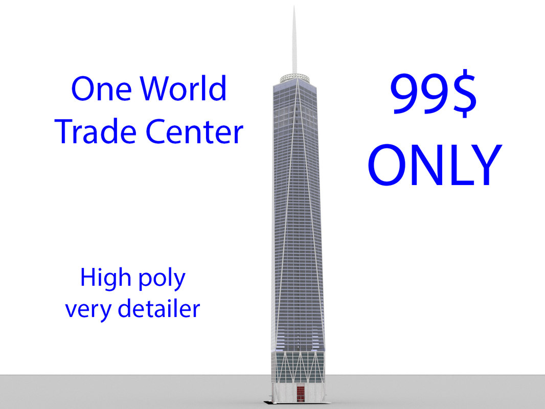 world trade center 3D