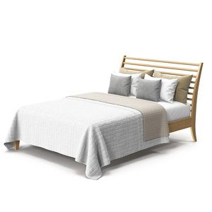 3D model bed