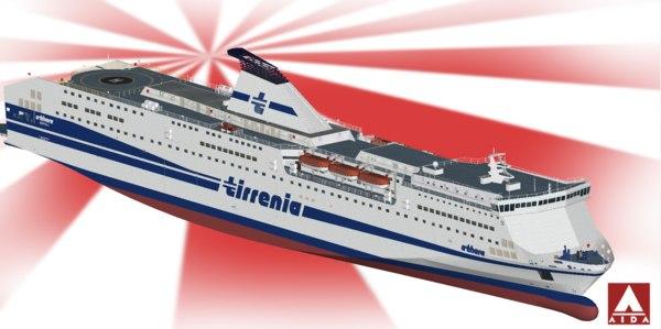 3D tirrenia athara model