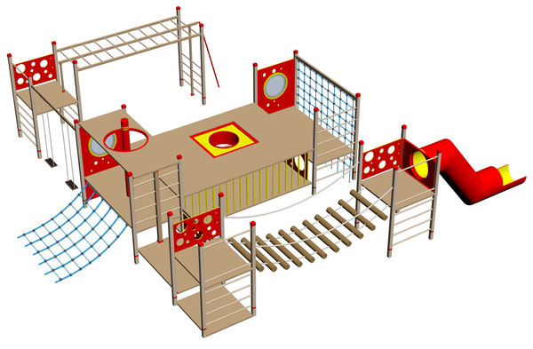 playground 3D model