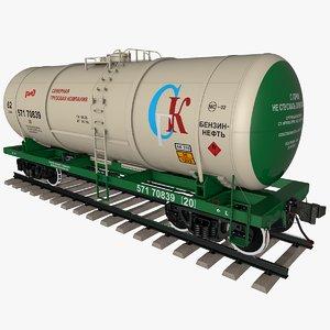 3D railway tank