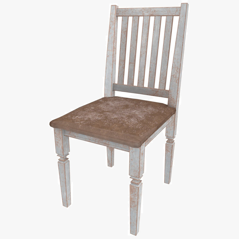 old chair 3D model