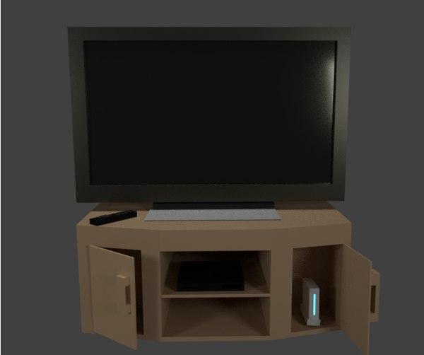 tv accessory 3D