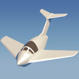 3D focke-wulf fighter model