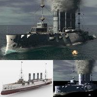 3D ship steam