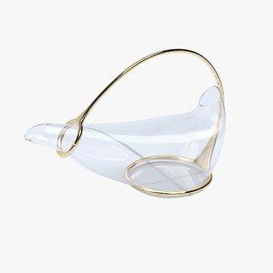 glass decanter 3D model