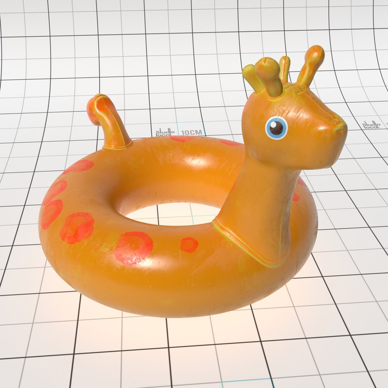 inflatable ring 3D model