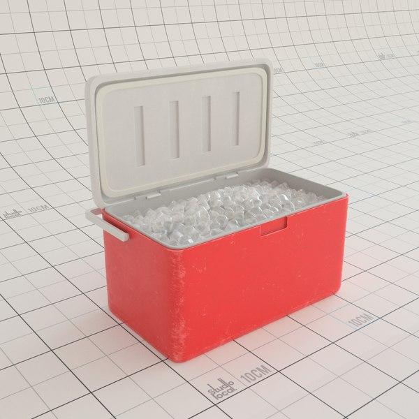 chilly bin 3D model