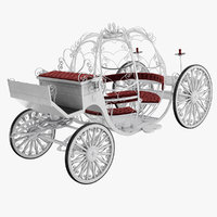 3D wedding carriage