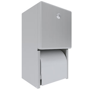3D toilet paper dispenser