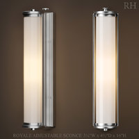 3D restoration royale adjustable sconce