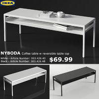 3D model ikea nyboda large table