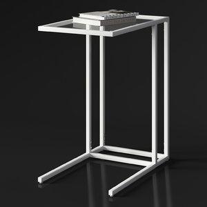 ikea vittsjo laptop stand 3D model
