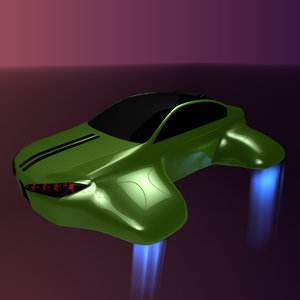 3D hover car bf