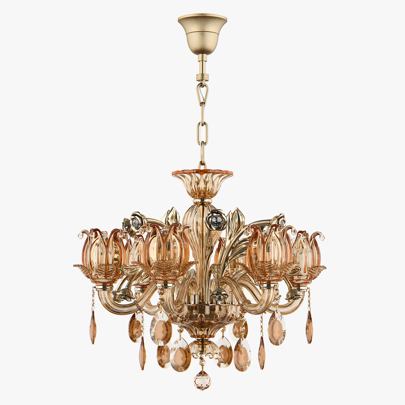 3D chandelier md 3255-6 osgona model