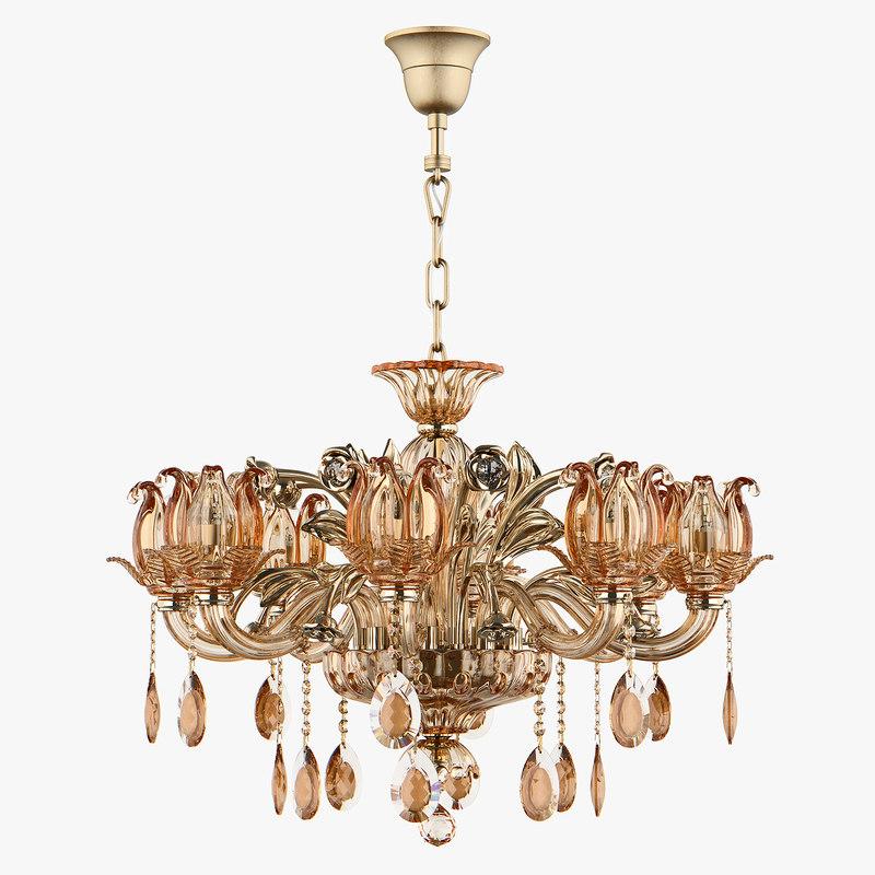 chandelier md 3255-8 osgona 3D model