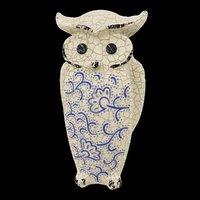 ceramic owl 3D model