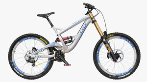 mountain bike gt fury 3D
