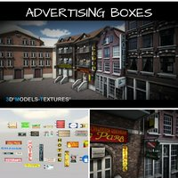 Advertising boxes