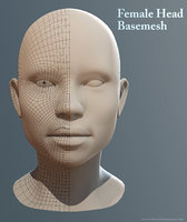 Female Head Basemesh