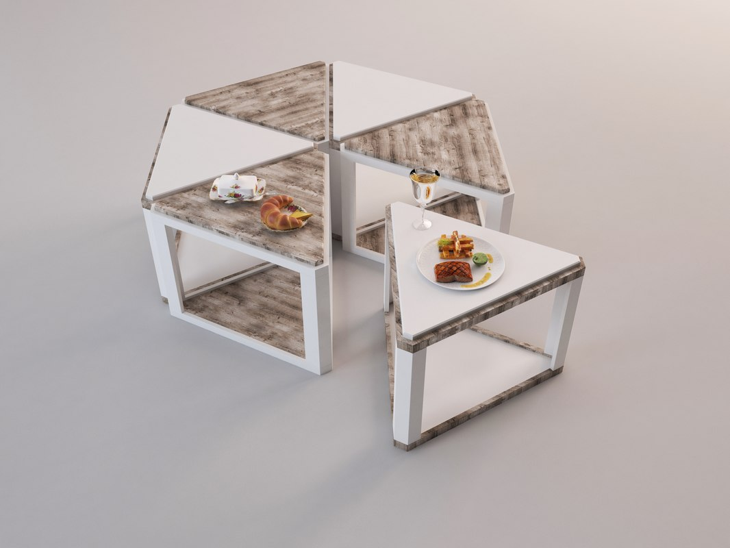 coffee table 2 3D model
