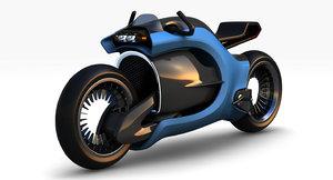 3D model concept bike