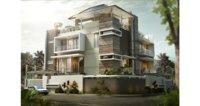 3D architecture villa house