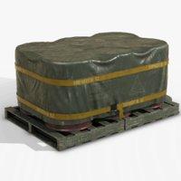 barrel shipment pbr 3D