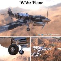 ww2 plane 3D model