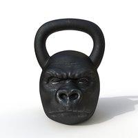 3D kettlebell monkey
