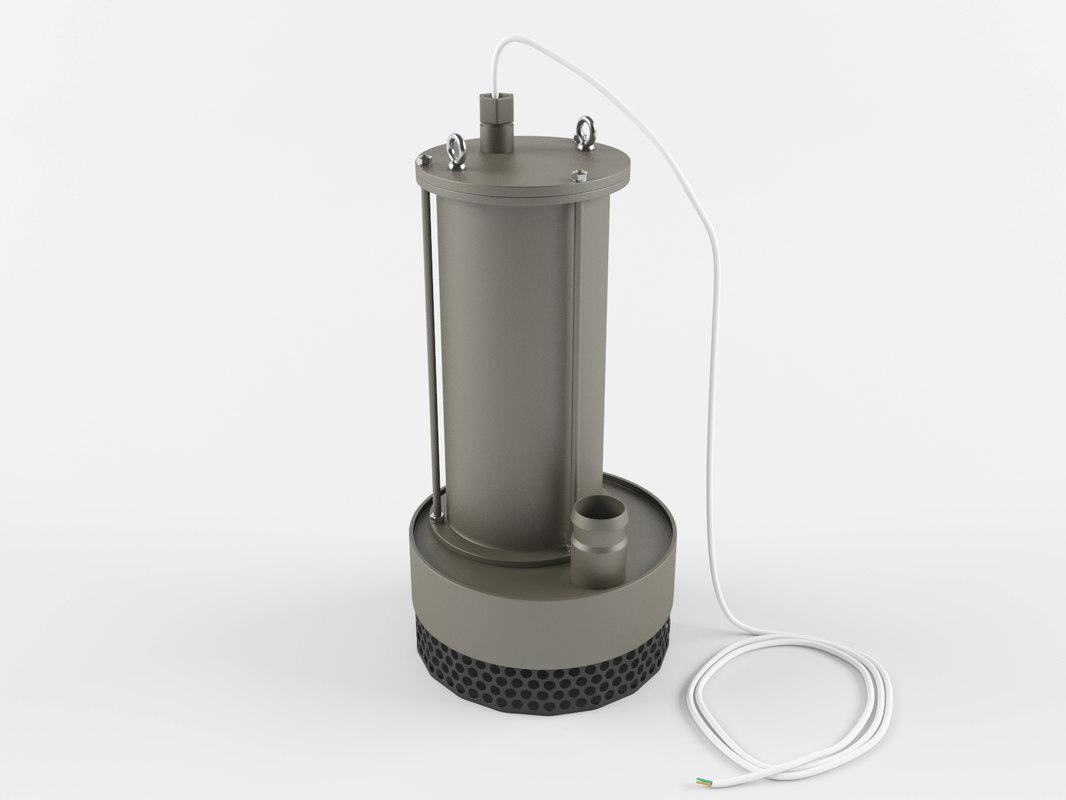 centrifugal pumping 3D model