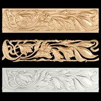 frieze gold 3D