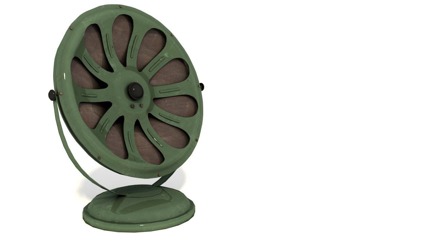 loudspeaker radio ussr 3D model