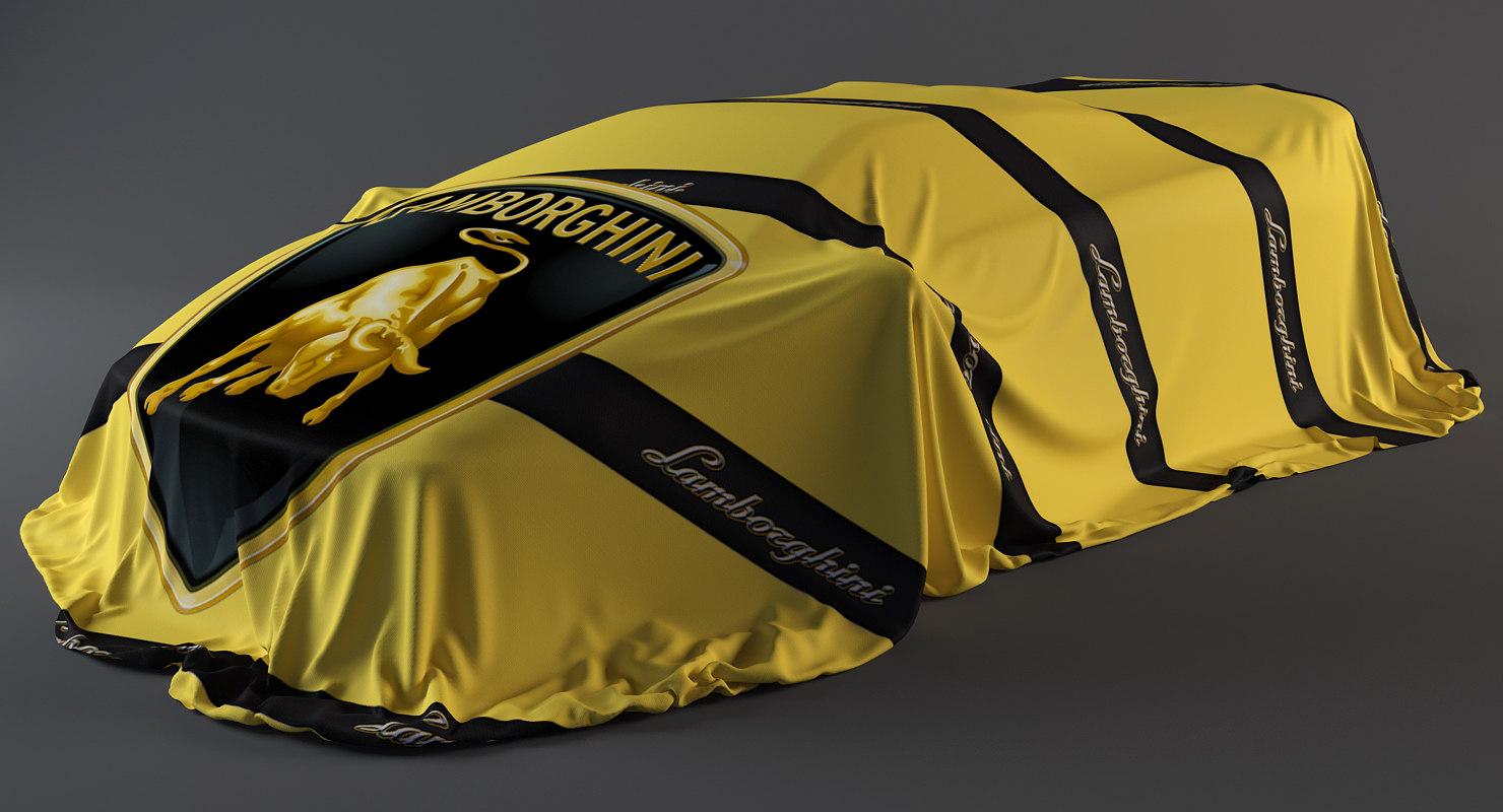 realistic cover car 3D model