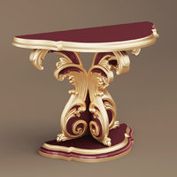 3D model late console table style