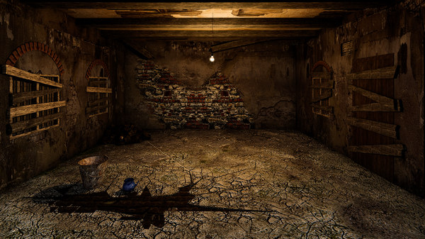 3D old room torture chamber