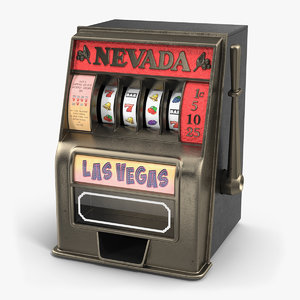vintage slot machine model