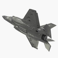 Stealth Multirole Fighter F 35 Lightning II Rigged