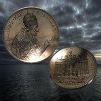 vatican medal 3D model