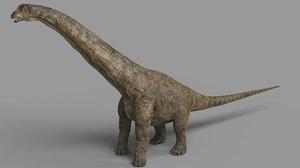 3D model alamosaurus