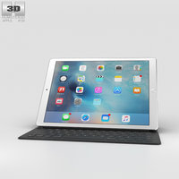 3D apple ipad pro model