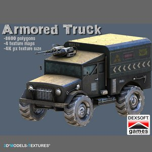 armored truck model