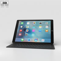 3D model apple ipad pro