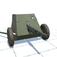 45 mm gun (53-K)