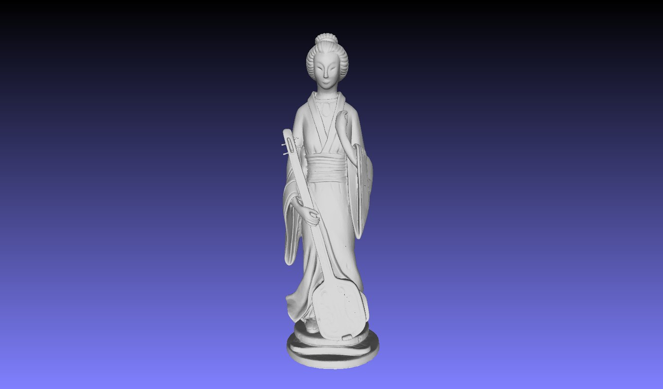 chinese statue 3D